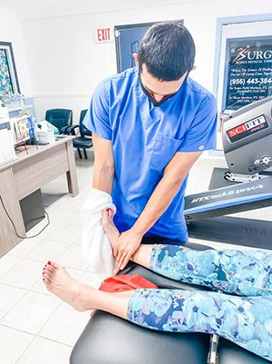 Physical Therapy Cameron County Surge Mobile Physical Therapy Foot and Ankle Pain Relief