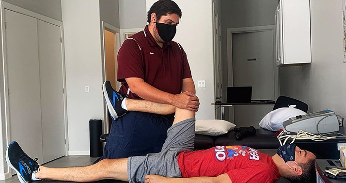 Physical Therapy Cameron County Surge Mobile Physical Therapy Knee Pain Relief